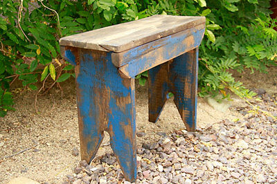 Primitive Bench, Milking Stool, Barnwood bench, Barnwood stool, Handmade bench