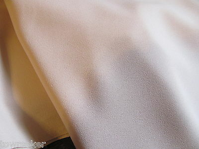 Pale Yellow Textured Polyester Apparel Fabric 3 Yards # 489