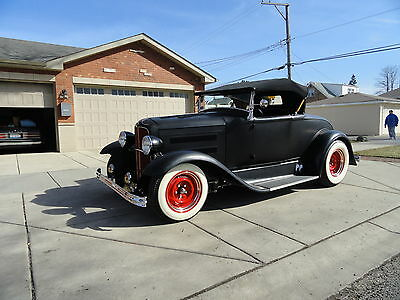 Ford : Model A deluxe 1931 ford roadster old school hotrod