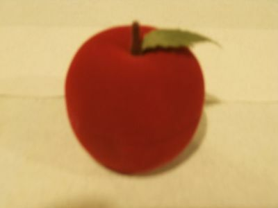 Red Apple Novelty Ring Box