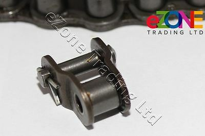 Pizza Dough Mixer Lower Roller Chain Offset Cranked Link with Pin