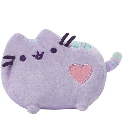 "NEW OFFICIAL GUND Pusheen The Cat Pastel Purple 5"" Small Plush Soft Toy 4048874"