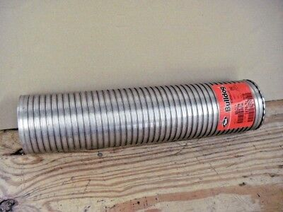 "Mack 583989727B Stainless Steel 4"" x 18"" Flexible Exhaust Pipe Coupling Tube"