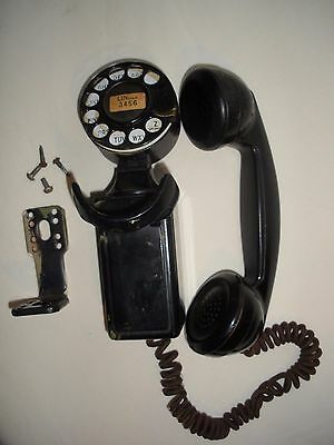Vintage Western Electric Space Saver 43A Phone with bracket