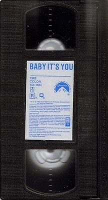 BABY IT'S YOU   -   Rosanna Arquette,Vincent Spano,VHS,NTSC,Full Screen,Comedy,R