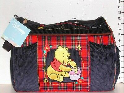 Disney Winnie Pooh Piglet Hunny Baby Diaper Bag :Shower Gift