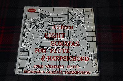 J.S. Bach~Sonatas For Flute and Harpsichord, Vol. II~Westminster~FAST SHIPPING
