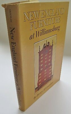New England Furniture at Williamsburg Signed First Edition - Hard Cover