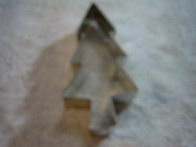 """Tree metal cookie cutter approx 3"""" by 1"""" deep"""