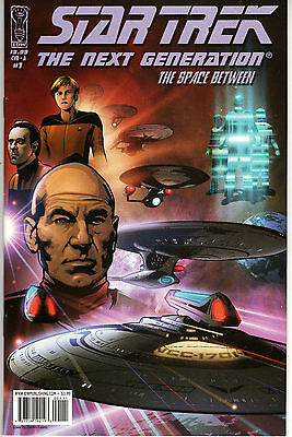 STAR TREK: THE NEXT GENERATION: THE SPACE BETWEEN #1 STAR WARS SCI FI