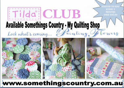 Tilda Club 12 Months Subscription Quilting, Sewing, Fabric 6 Issues per Year ...