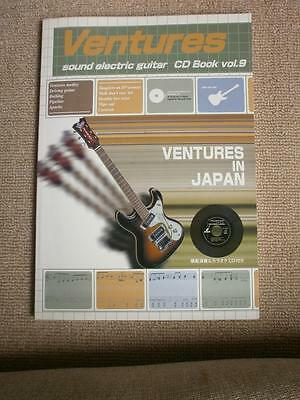 VENTURES KARAOKE  Japan Guitar Tab w/Karaoke CD