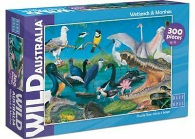 Blue Opal Wild Australia Wetlands and Marshes Jigsaw Puzzle 300 piece