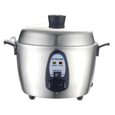 Tatung 11 Cups indirect heating Stainless Steel Rice Cooker TAC-11KN New