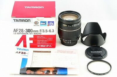 *Near Mint*Tamron AF 28-300mm F3.5-6.3 LD IF MACRO Lens for Nikon from Japan