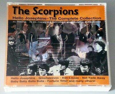 THE SCORPIONS - 2CD - HELLO JOSEPHINE -THE COMPLETE COLLECTION - 1998 - HRD13602