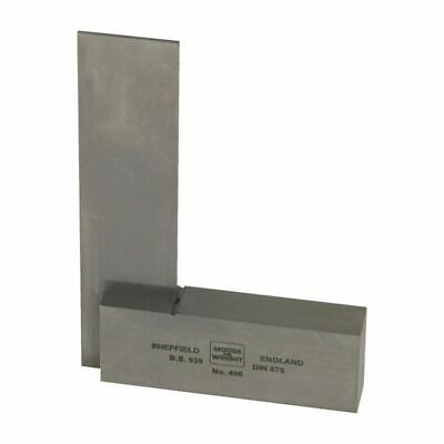 Moore and  Wright - 100mm / 4 inch Precision Ground Engineers Square - DIN 875