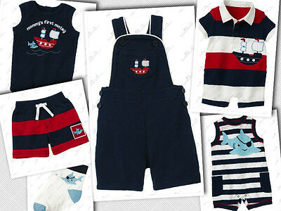 NWT Gymboree Baby Boys FIRST MATEY Newborn 0-3 Months Outfits Clothes U PICK