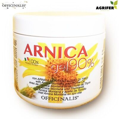 OFFICINALIS ARNICA 90% GEL CAVALLI 500 gr ANTINFIAMMATORIO DISTORSIONI E TRAUMI
