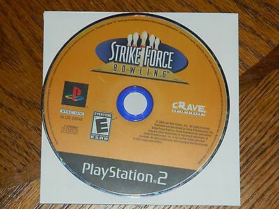 Strike Force Bowling (Sony PlayStation 2, 2004) DISC ONLY PS2