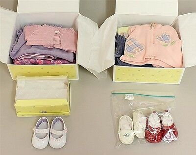 """AMERICAN GIRL - MIB OUTFITS/ACCESSORIES FOR """"BITTY BABY"""" TWIN DOLLS... Lot 3402"""