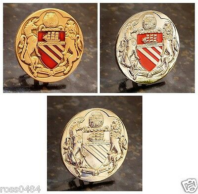 United Badge Selection City of Manchester Coat of Arms Crest