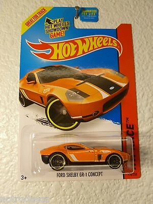 NEW for 2015 HOT WHEELS ~ FORD SHELBY GR-1 CONCEPT # 178 / 250