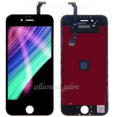 Black LCD Display Screen Touch Digitizer Assembly Replacement for iPhone 6 B+ US