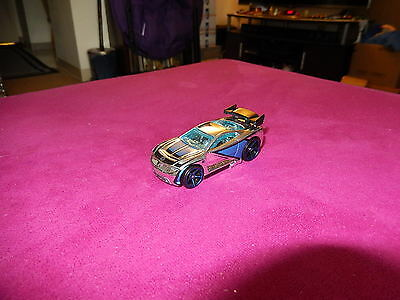 Hot Wheels POWER RAGE MYSTERY CAR (2007), CHROME, Loose, NICE, L@@K!