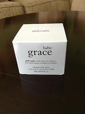 Philosophy Baby Grace Whipped Body Creme 8oz RARE!