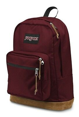 """NWT JANSPORT BLACK LABEL RIGHT PACK 15"""" LAPTOP BACKPACK - RED/AUTHENTIC - $60"""