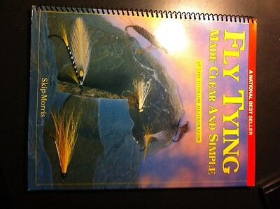 Fly tying made clear and simple book by skip Morris