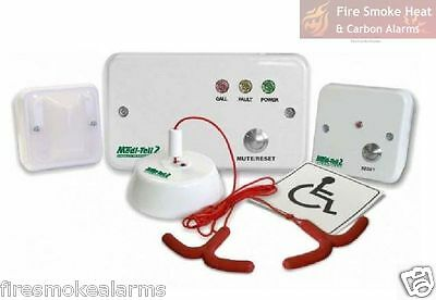 MEDI-TELL Premier Disabled Persons Emergency Toilet Alarm Safety System VPA-220