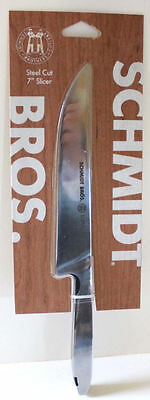 "Schmidt Bros Steel Cut No. 9 Knife 7"" Slicer Stainless Professional Grade New"