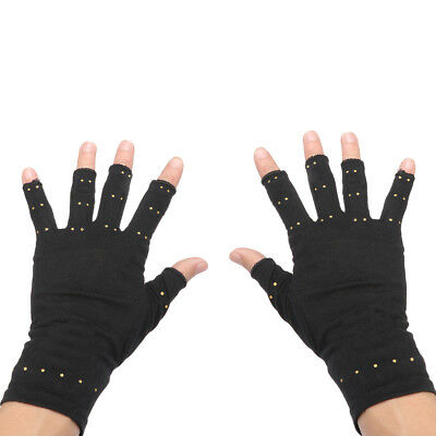 Copper Hands Arthritis Gloves As Seen on Tv Therapeutic Compression Pain  Relief