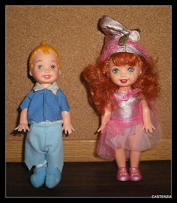 BARBIE SET OF 2 MUNCHKIN  FROM THE WIZARD OF OZ DOLL  CLB 1810