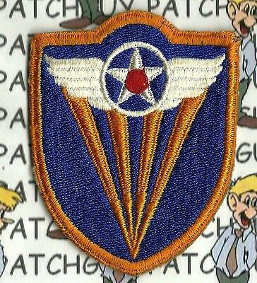 ORIGINAL VINTAGE WW2 WWII U.S. ARMY PATCH-4TH A.A.F. PATCH-NEW