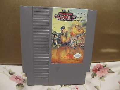 Operation Wolf  (Nintendo NES, 1989)CARTRIDGE ONLY