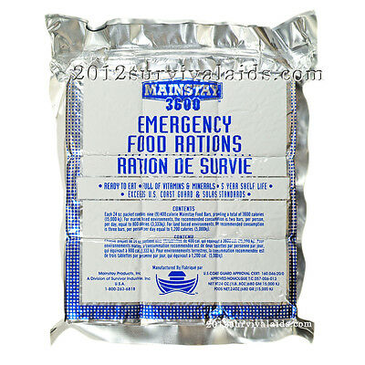 Mainstay Emergency Food Rations - 3600 Calorie Bar (Single)