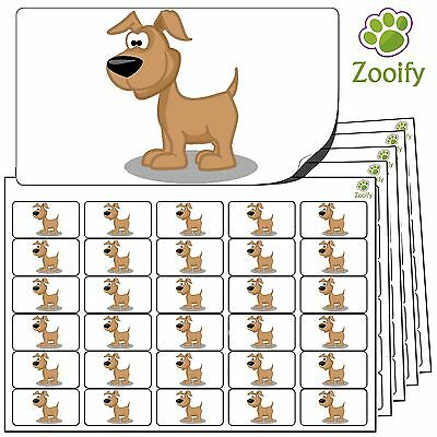 Quality Self Adhesive Animal Labels By Zooify. 38 x 21mm 480 Chimp Stickers