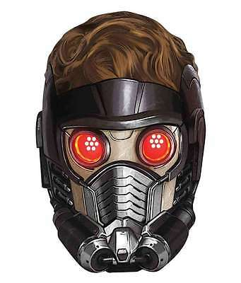 Peter Quill Guardians Of The Galaxy Marvel Official Card Party Face Mask Lord
