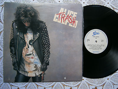 ALICE COOPER TRASH RARE ORIGINAL EX YUGOSLAV 1ST PRESS 1989 EX/EX TO EX+