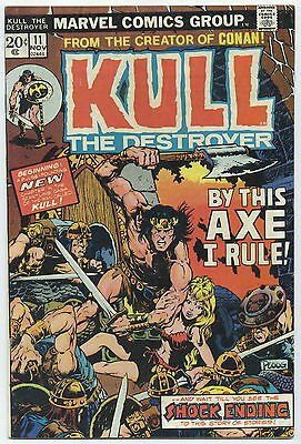 KULL THE DESTROYER (CONQUEROR), Issue #11, (Marvel 1972), FN
