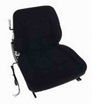 """TOTAL SOURCE Suspension Forklift Seat w/ Switch 19""""x19.25""""x20.5"""" Cloth"""