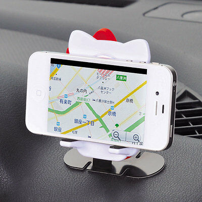 New Sanrio Hello Kitty Smartphone Stand KT435 Car Accessory from Japan
