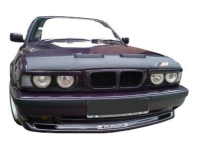 Bmw 5 E34 1987-1996 + M Logo Badge Emblem Custom Car Hood Bra
