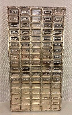 Antique Miniature White's Chocolate Bars Mold Stainless Steel