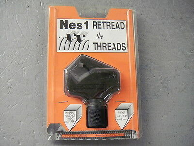 "Nes1 Retread Universal Adjustable Bolt Thread Repair Tool 1/4"" - 3/4"" Range"