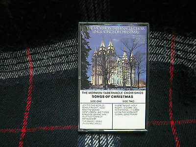 The Mormon Tabernacle Choir Sings Songs Of Christmas (Cassette 16C 30673, Colum)