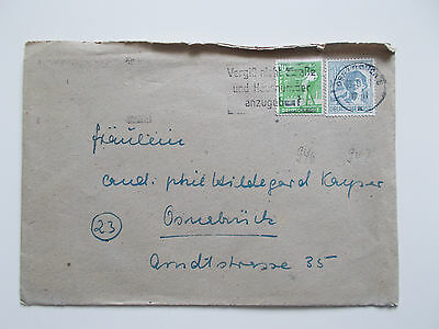 GERMANY COVER 10 12 PF MI 946 947 OSNABRUCK